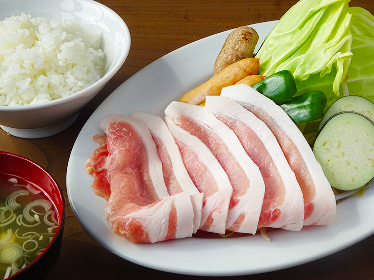 武州豚ロース焼き定食
